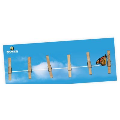 "Stik-Withit® Fridgestrips® Bulletin Board (4 1/4""x11"")"