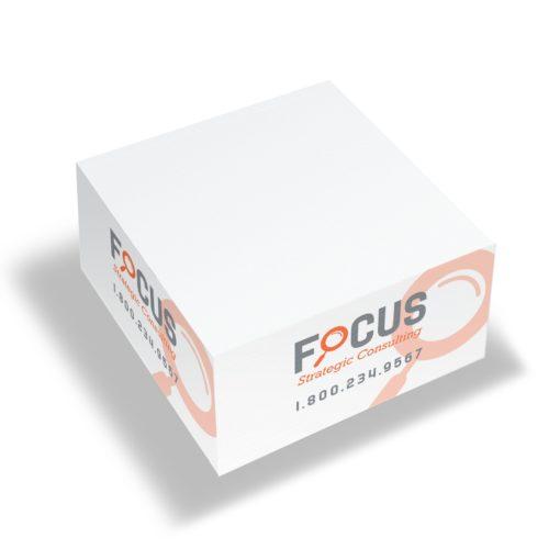 "Stik-Withit® Note Cube® Half Size (3 3/8""x3 3/8""x1 3/4"")"