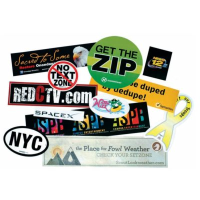 "Stik-Withit® Bumper Sticker (3 3/4""x7 1/2"")"