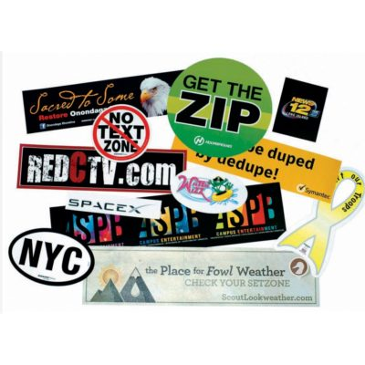 "Stik-Withit® Bumper Sticker (3""x5"")"