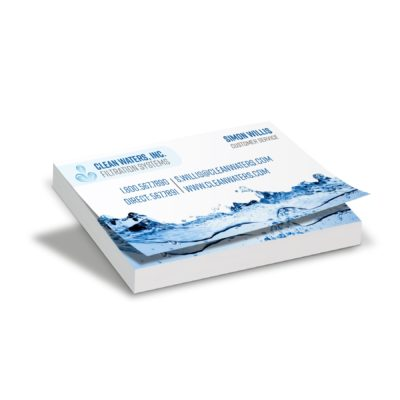 "100 Sheet Business Card Size Stik Withit® Adhesive Notepad (3.5""x2"")"