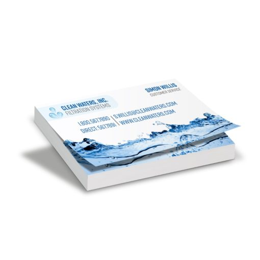 "100 Sheet Business Card Size Stik Withit® Adhesive Notepad (3.5""x2"")"