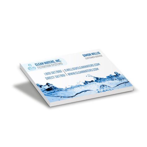 "50 Sheet Business Card Size Stik-Withit® Adhesive Notepad (3.5""x2"")"