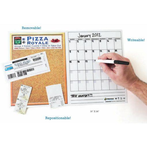 "Stik-Withit® Dry Erase Fridgestrip® Combo Board (16""x24"")"