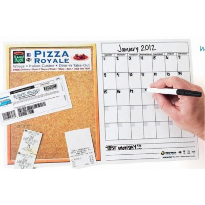 "Stik-Withit® Dry Erase Fridgestrips® Combo Board (11""x17"")"