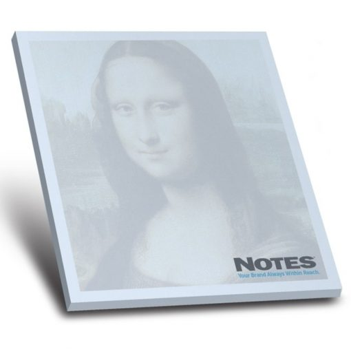 """25-Sheet Stik-Withit® Adhesive Notepad w/ Colored Paper (4""""x4"""")"""