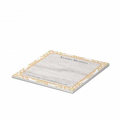 """25-Sheet Stik-Withit® Adhesive Notepad w/Colored Paper (3""""x3"""")"""