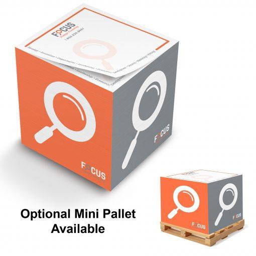"Stik-Withit® Full Size Note Cube® Notepad (3 3/8""x3 3/8""x3 3/8"")"