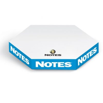 "Thins® Hexagon Stik-Withit® Note Cube® Notepad (3 5/8""x3 1/8"")"